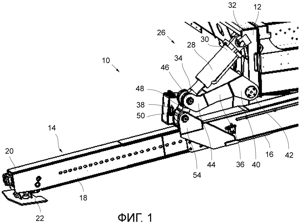 Подъемная система для грузопассажирского автомобиля