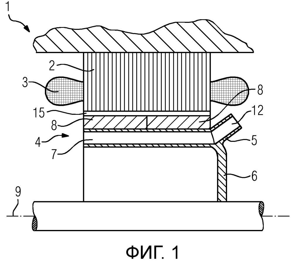 Ротор вращающейся динамоэлектрической машины с возбуждением от постоянных магнитов и ее применение
