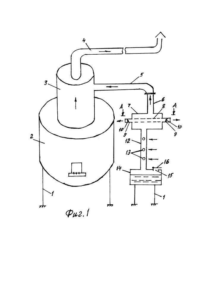 Универсальная печь воздушного отопления