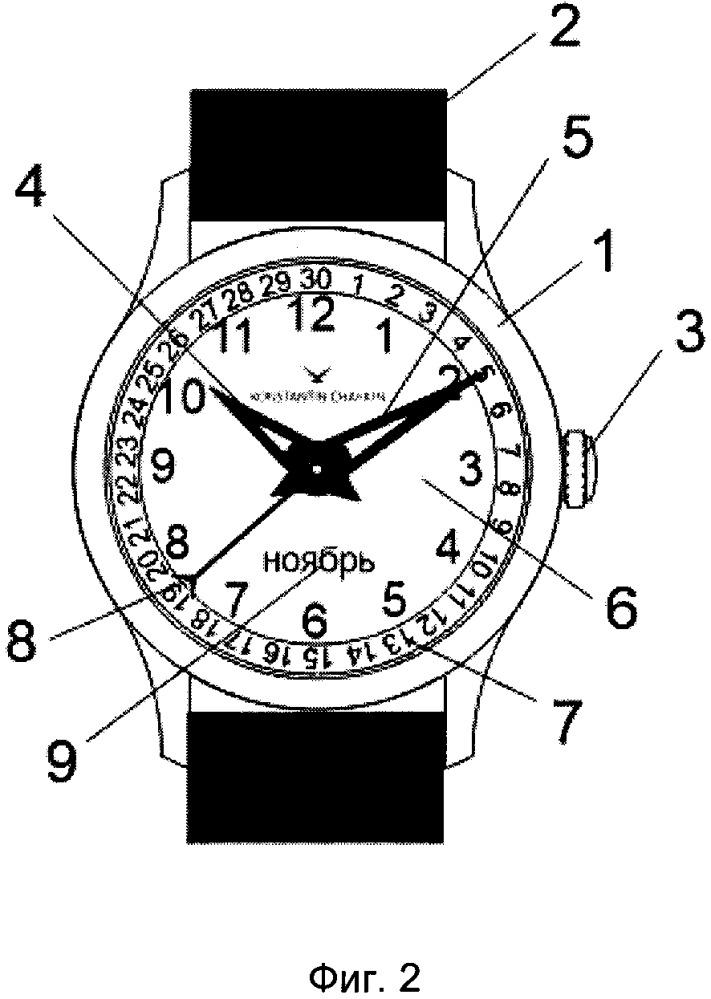 Часы с календарём даты и набор из таких часов