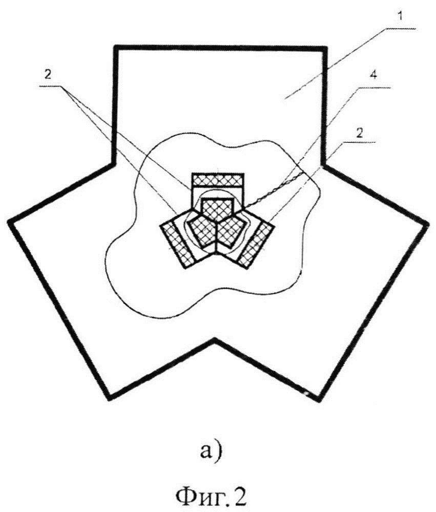 Волноводный ферритовый переключатель с магнитной памятью
