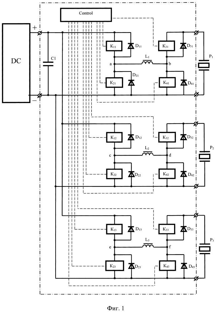 Устройство питания шагового пьезоэлектрического двигателя (варианты)