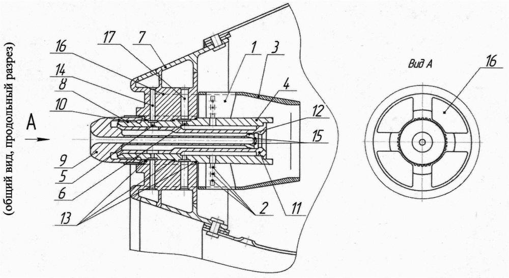 Топливовоздушная горелка и форсуночный модуль топливовоздушной горелки