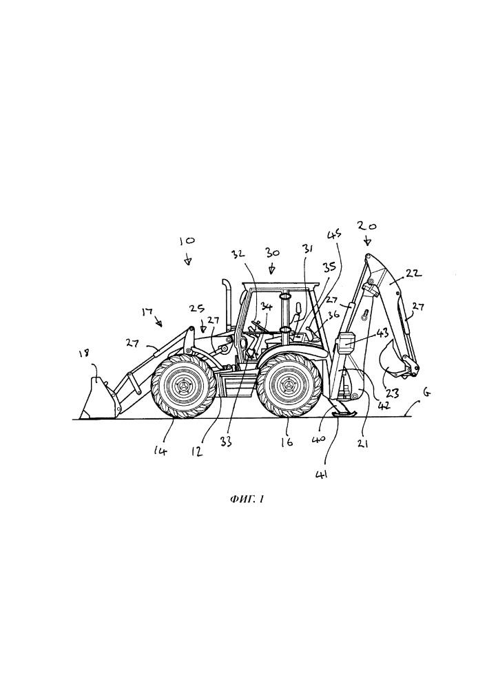 Способ управления машиной для перемещения материалов