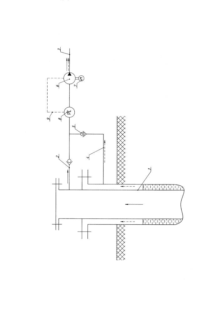Насосный агрегат для газированных нефтяных флюидов
