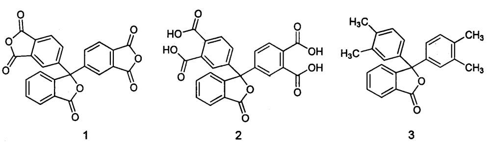 Способ получения диангидрида 3,3-бис-(3,4-дикарбоксифенил)фталида