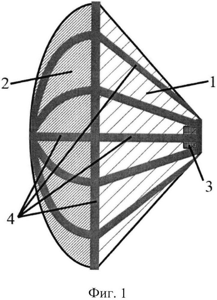 Надувная антенна для космических аппаратов