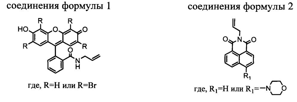 Новые флуоресцентные производные α-гидрокси-бисфосфонатов в качестве ингибиторов солеотложений и способы их получения
