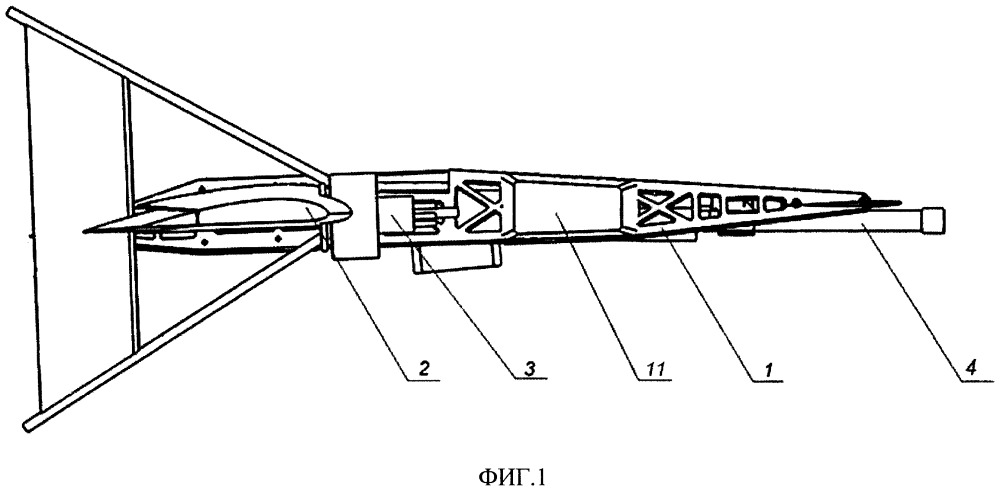 Беспилотный летательный аппарат-перехватчик