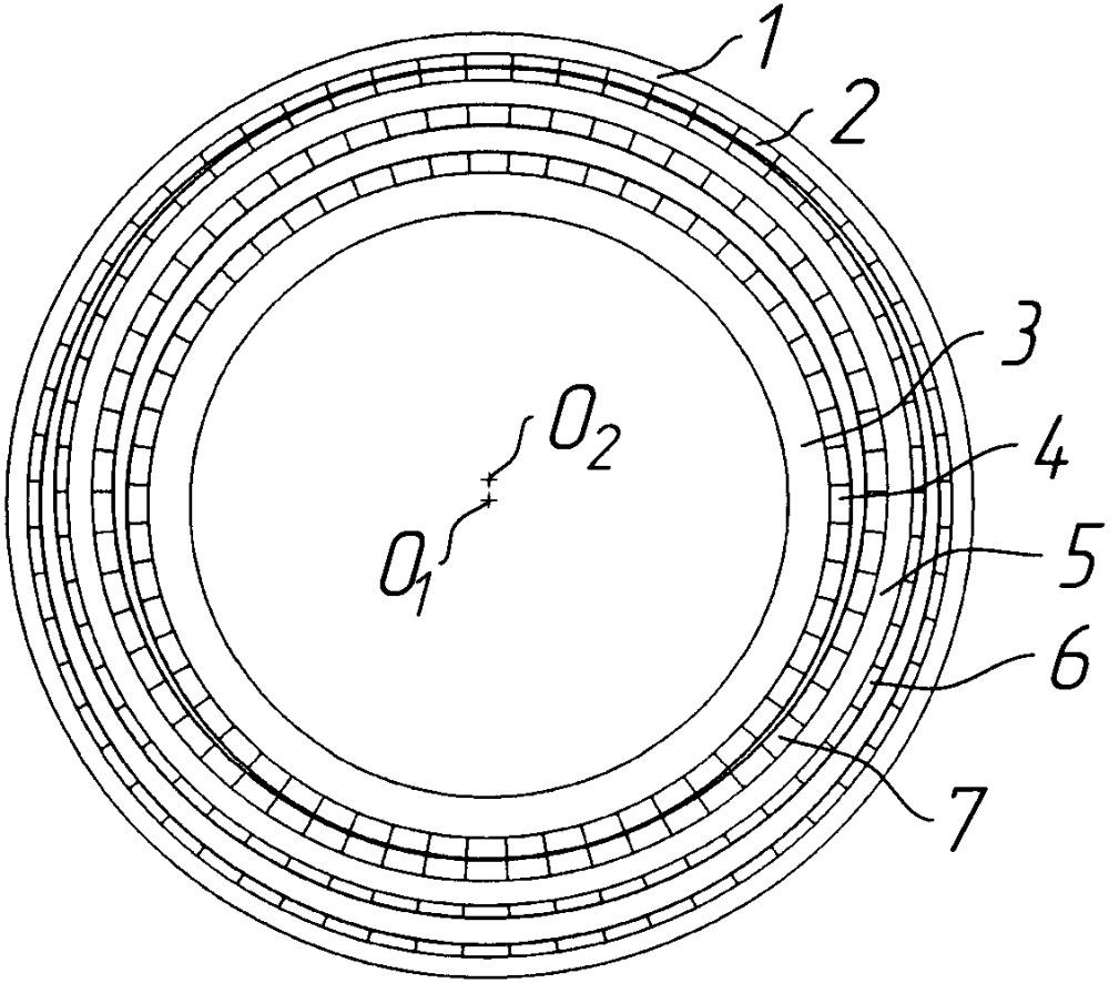 Планетарный магнитный редуктор
