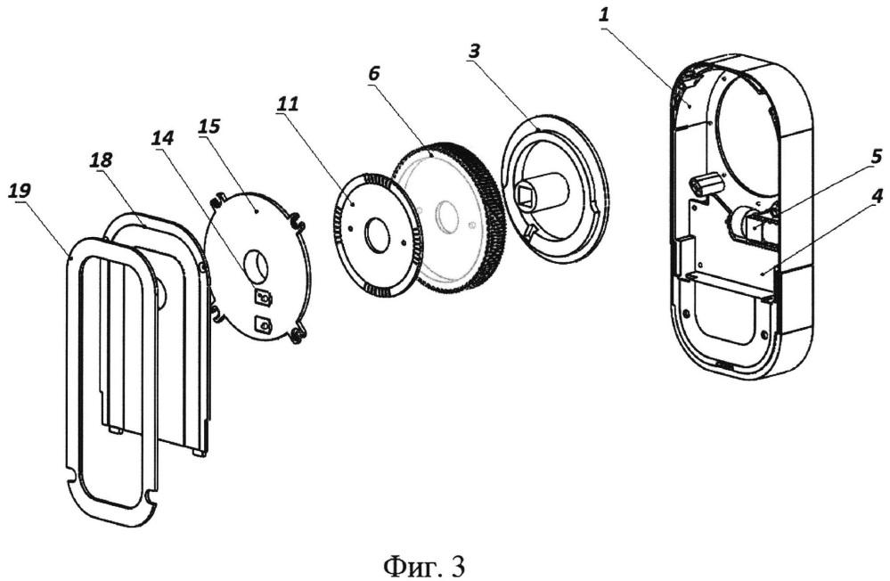 Дверная электромеханическая накладка на запирающее устройство