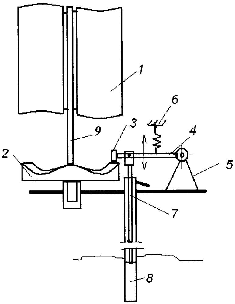 Водоподъёмная ветроустановка