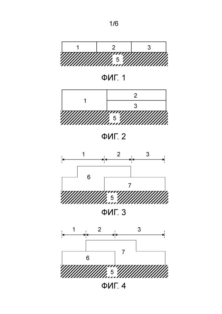Зонированный катализатор окисления для дизельного двигателя