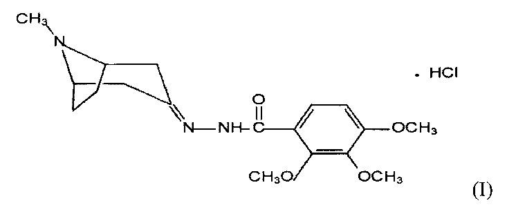 Ацилгидразон (2,3,4-триметокси-n-(8-метил-8-азабицикло[3.2.1.] октан-3-илиден) бензогидразид гидрохлорид), обладающий противомигреневой и анксиолитической активностью