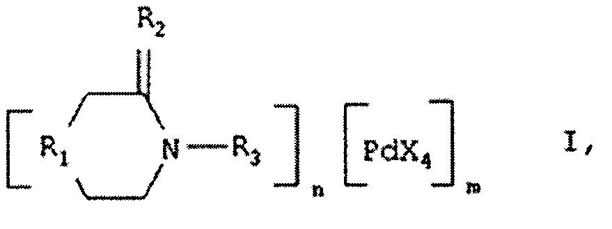 Катионно - анионные комплексы палладия