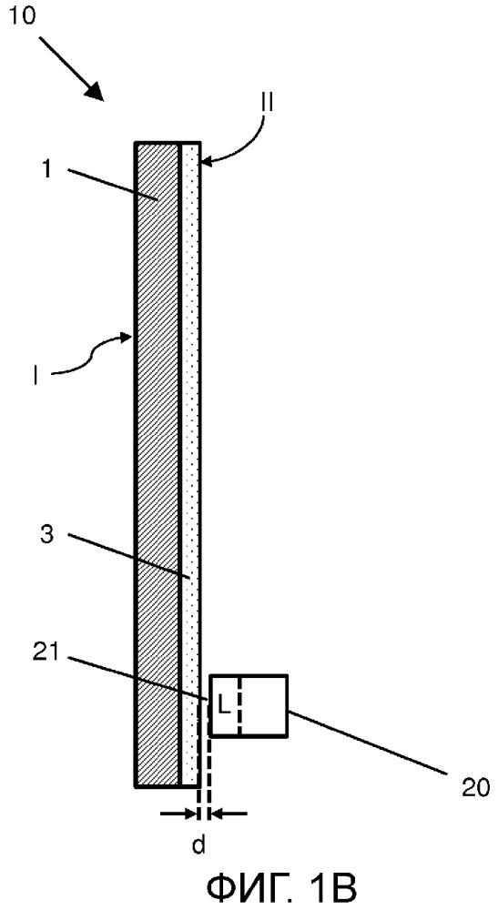 Система оконного стекла с аварийной сигнализацией