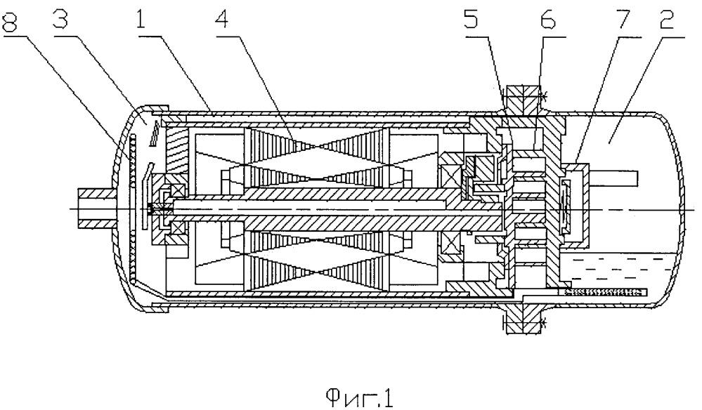 Горизонтальный спиральный компрессор