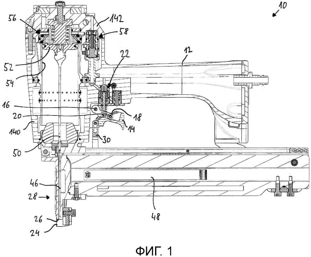 Пневматический гвоздезабивной пистолет с однократным и контактным запуском