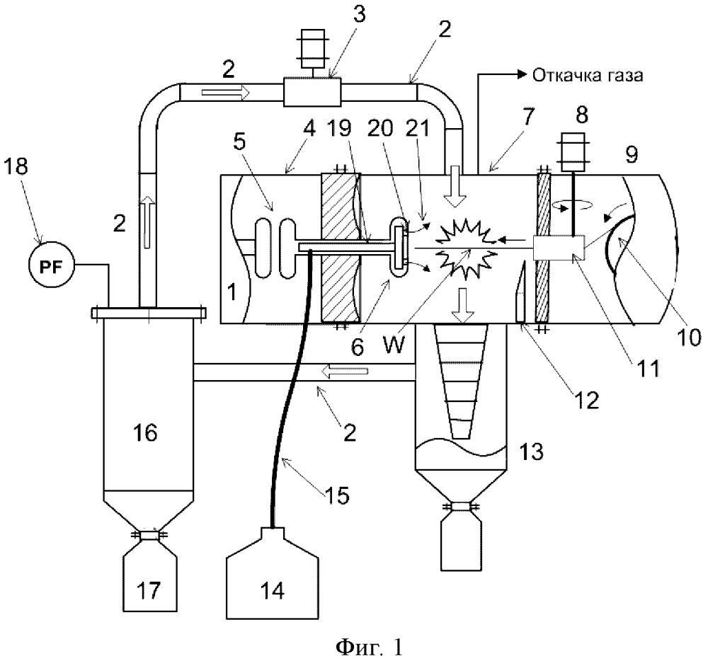 Способ получения металлического порошка и устройство для его осуществления