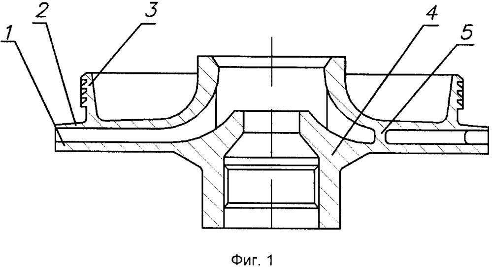 Способ изготовления рабочего колеса малоразмерного центробежного насоса