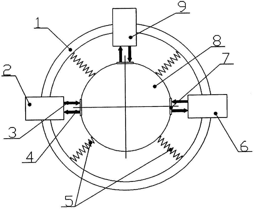 Лазерно-интерференционный векторный приемник