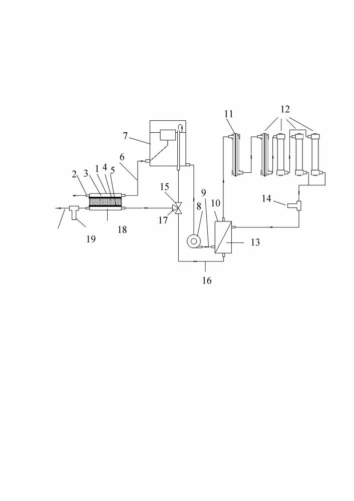 Модульная установка с инфракрасным, ультрафиолетвым излучением для обработки жидкости с активным теплообменником