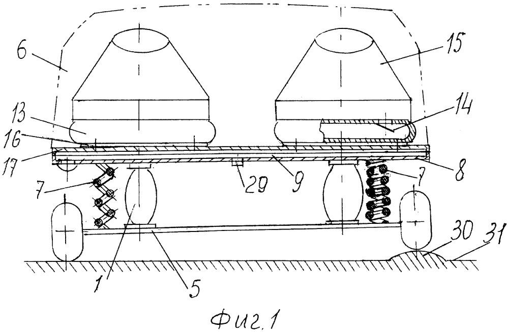 Зарядка тяговых аккумуляторов электромобиля при его движении