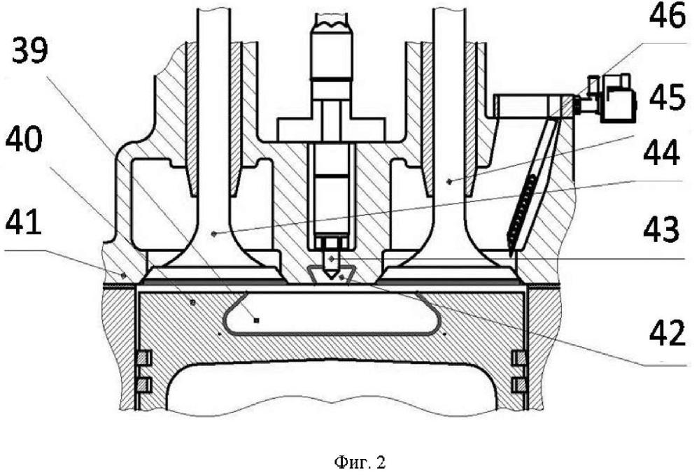 Способ организации рабочего процесса газодизельного двигателя