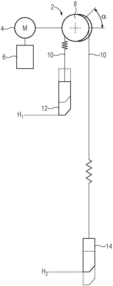 Способ для управления подъемной машиной, подъемная машина и устройство управления для управления приводом подъемной машины