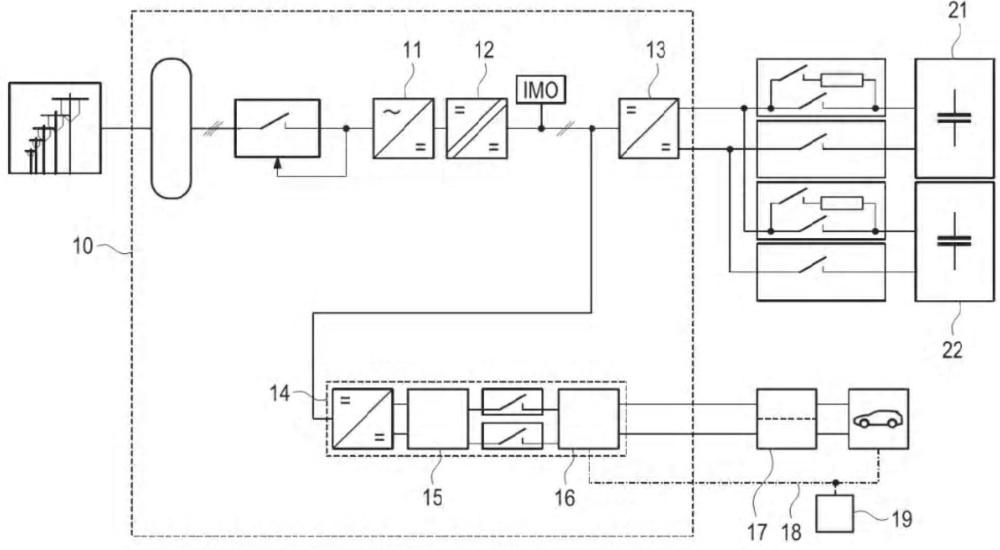 Конфигурация преобразователя для электрической зарядной станции и соответствующая электрическая зарядная станция