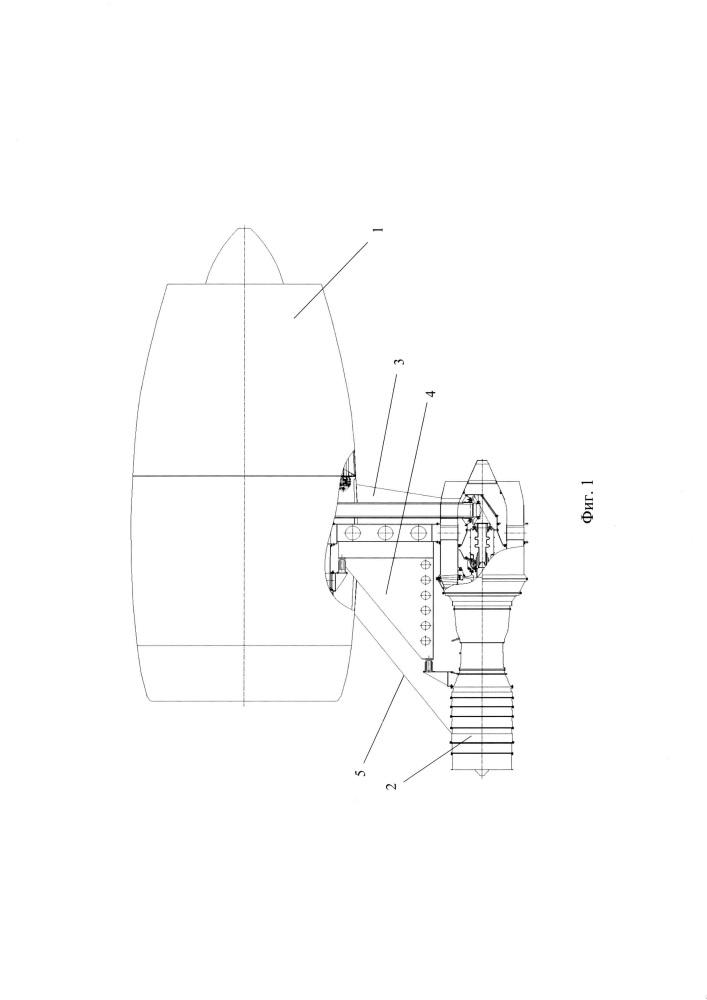 Система крепления вспомогательного оборудования к газотурбинному двигателю летательного аппарата