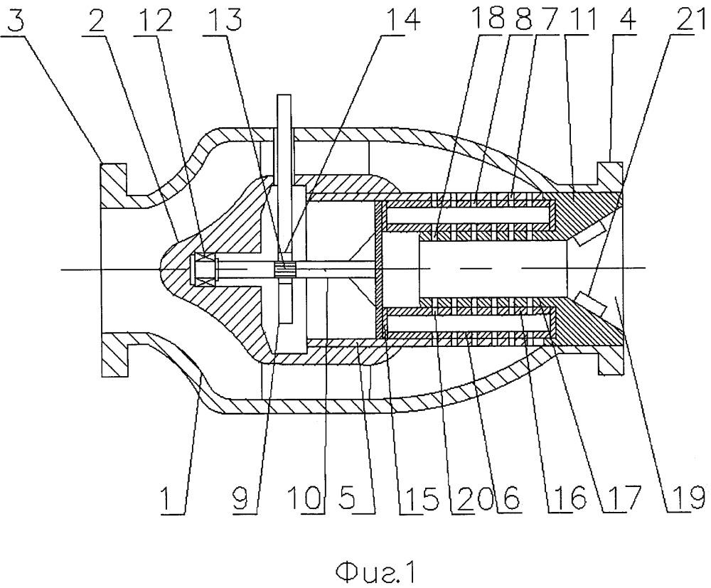 Осесимметричный регулирующий клапан