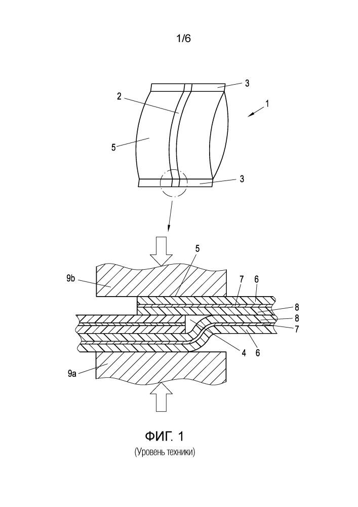 Многослойная герметизирующая пленка и слоистый пленочный материал с многослойной герметизирующей пленкой
