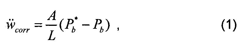 Определение объема коллектора на основе частоты помпажа