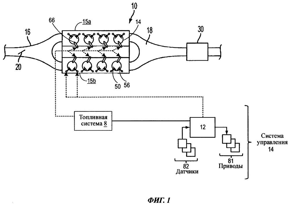 Способ и система для управления двигателем