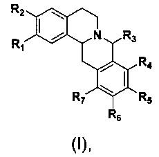 Фармацевтическое применение соединения гексагидродибензо[a, g]хинолизина