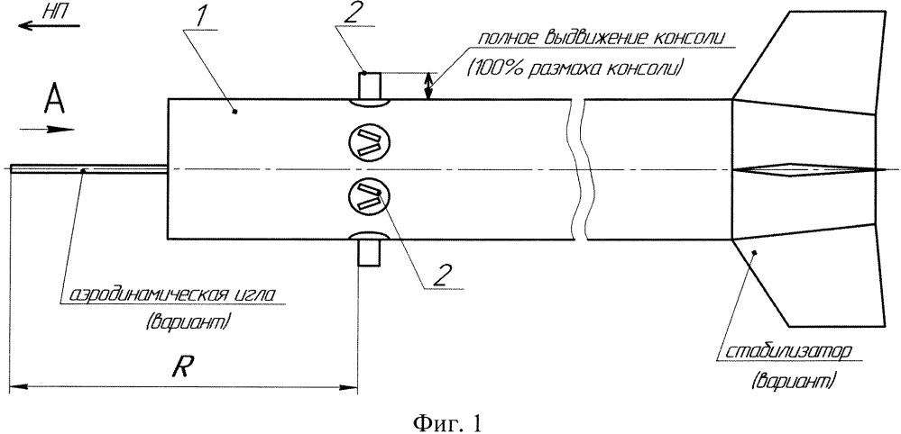 Способ аэродинамического управления летательным аппаратом