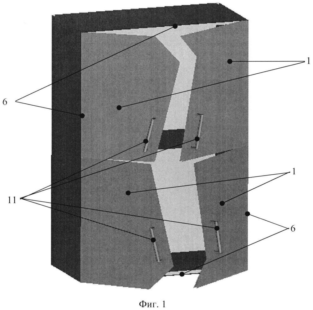 Мебельный фасад с непрямоугольными элементами и способ его изготовления