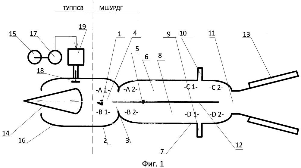 Широкодиапазонный воздушно-реактивный двигатель детонационного горения (варианты)