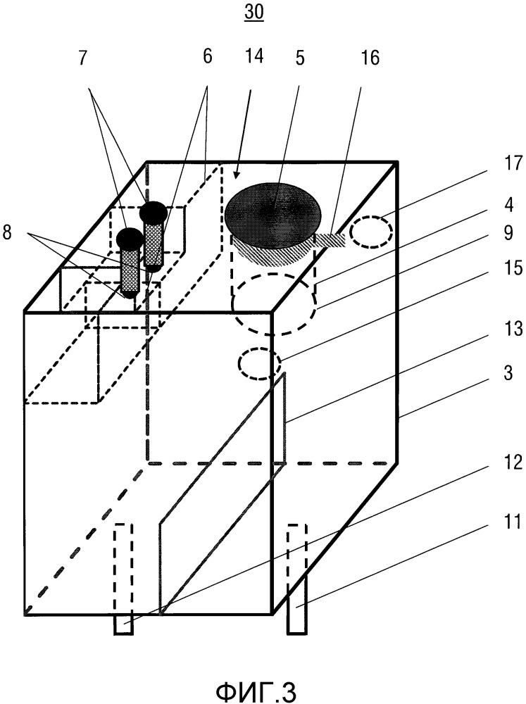 Расширительный бачок для охлаждающей жидкости двигателей внутреннего сгорания с жидкостным охлаждением