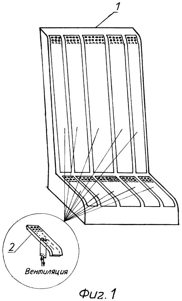 Устройство вентиляции кресла транспортного средства и способ вентиляции