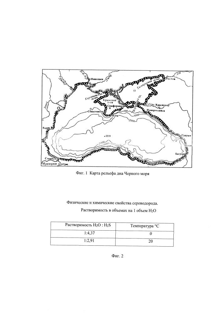 Способ оздоровления черного моря от сероводородного заражения