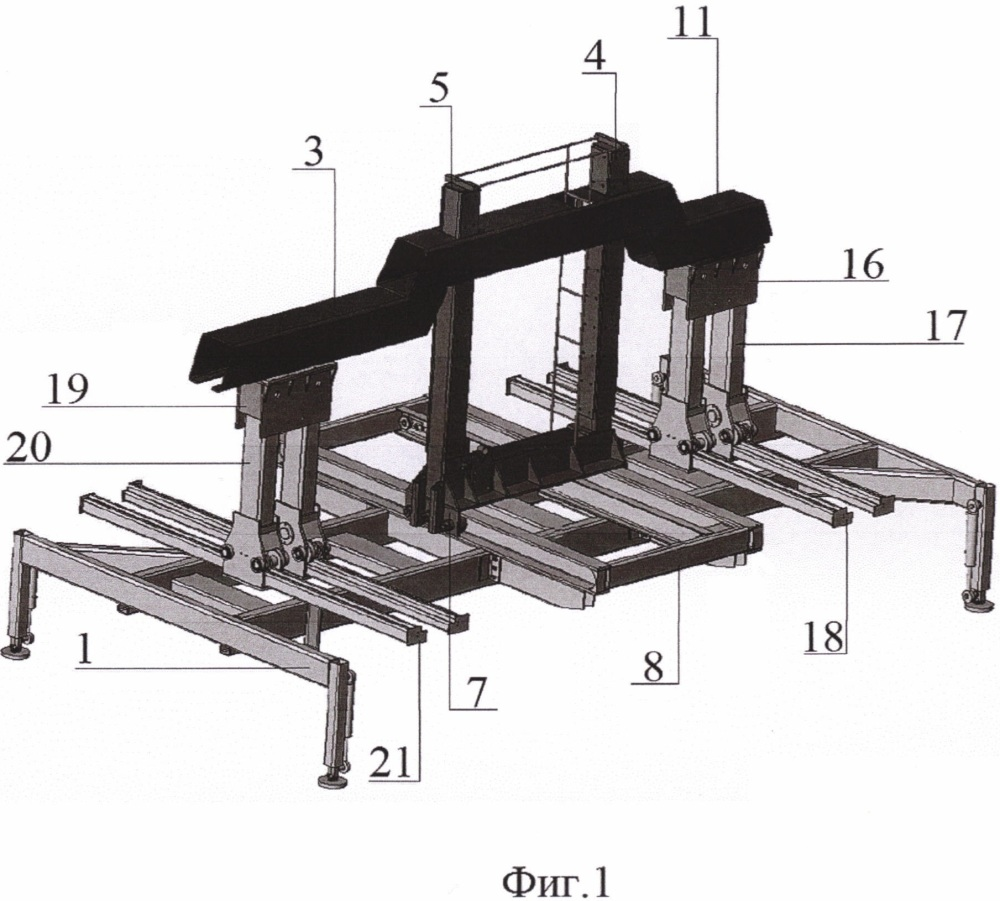 Погрузочно-разгрузочная установка для эвакуации легковых автомобилей боковым захватом