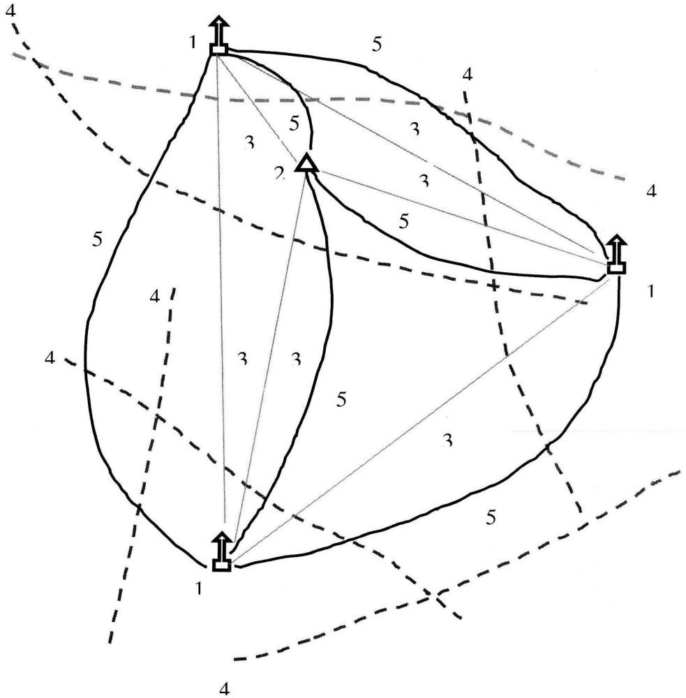 Способ геодинамического мониторинга за смещениями блоков верхней части земной коры и деформационного состояния земной поверхности с применением технологии высокоточного спутникового позиционирования глобальной навигационной спутниковой системы (гнсс) глонасс /gps