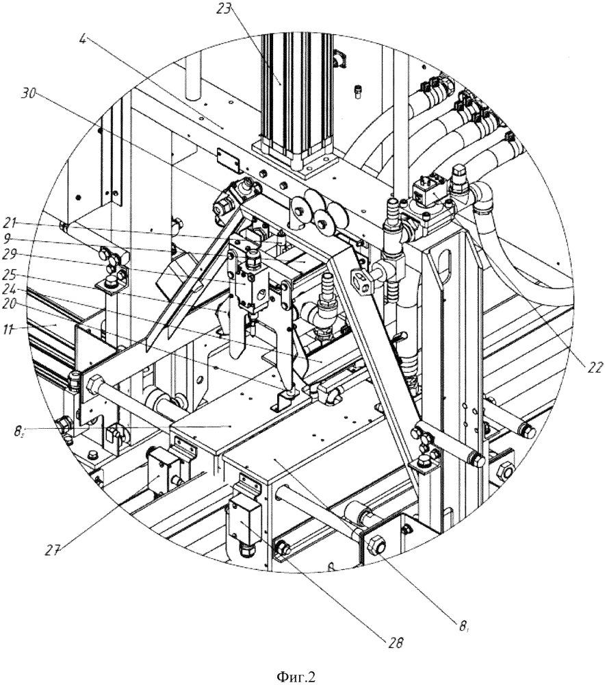 Установка для термической обработки сварных стыков рельсов