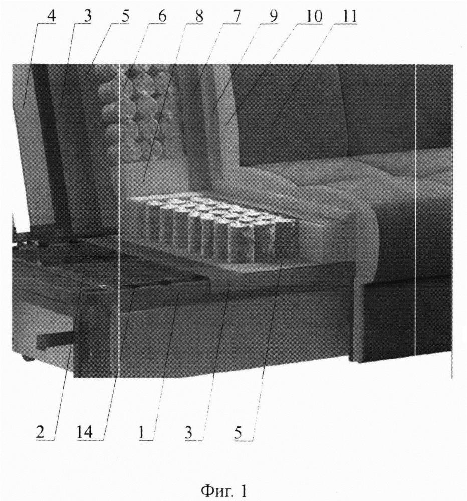 Мебель для лежания и сидения с мягким основанием