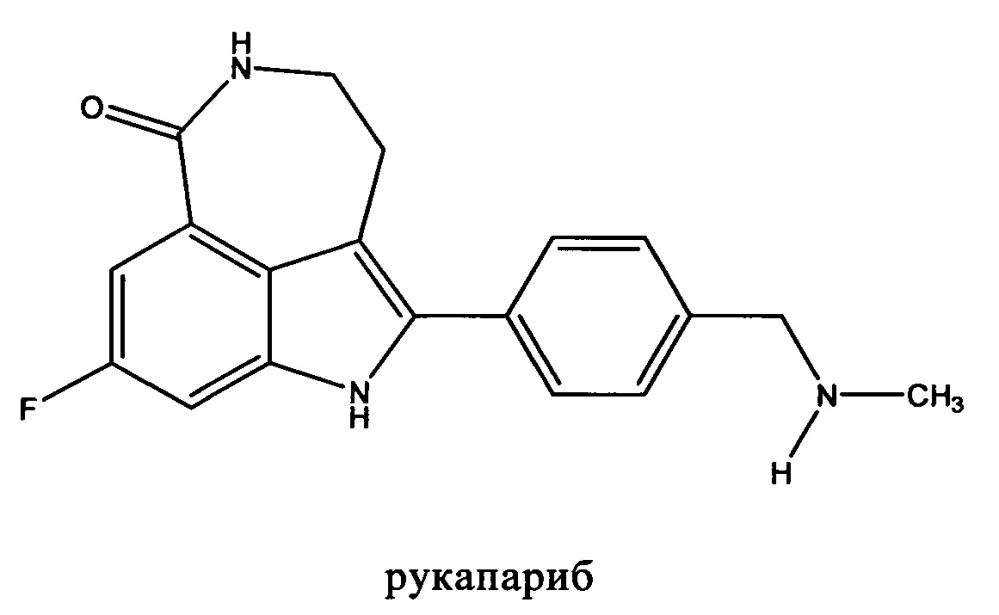 Таблетки, содержащие большую дозу рукапариба