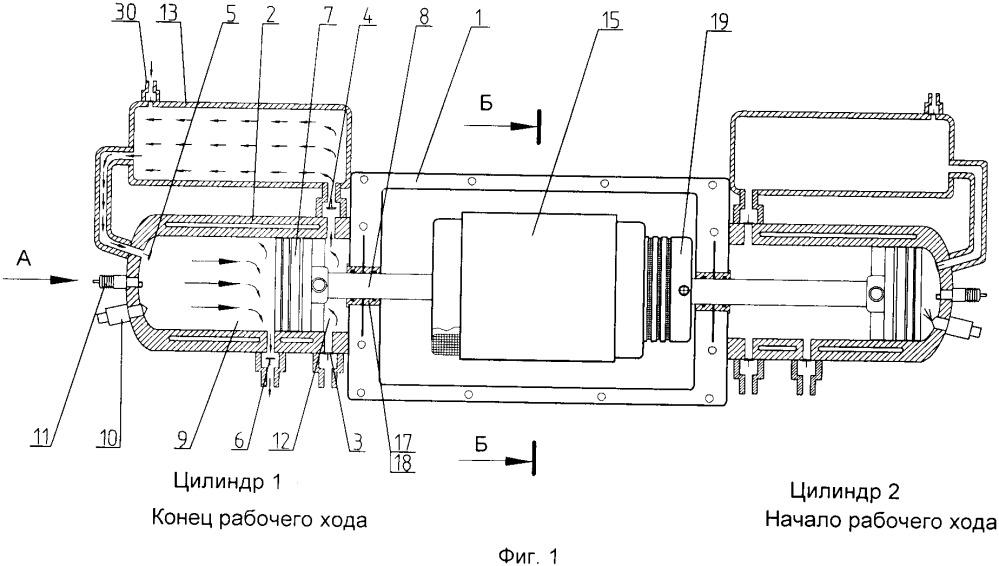 Силовая гибридная установка (варианты)
