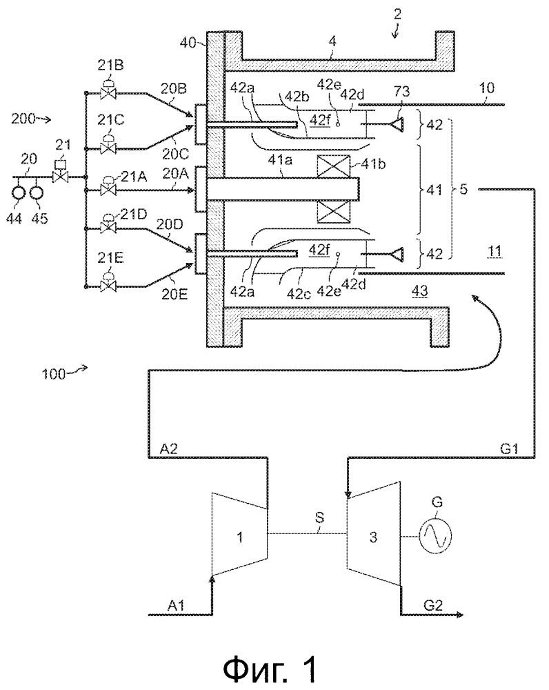 Камера сгорания газовой турбины, газовая турбина и способ управления камерой сгорания газовой турбины