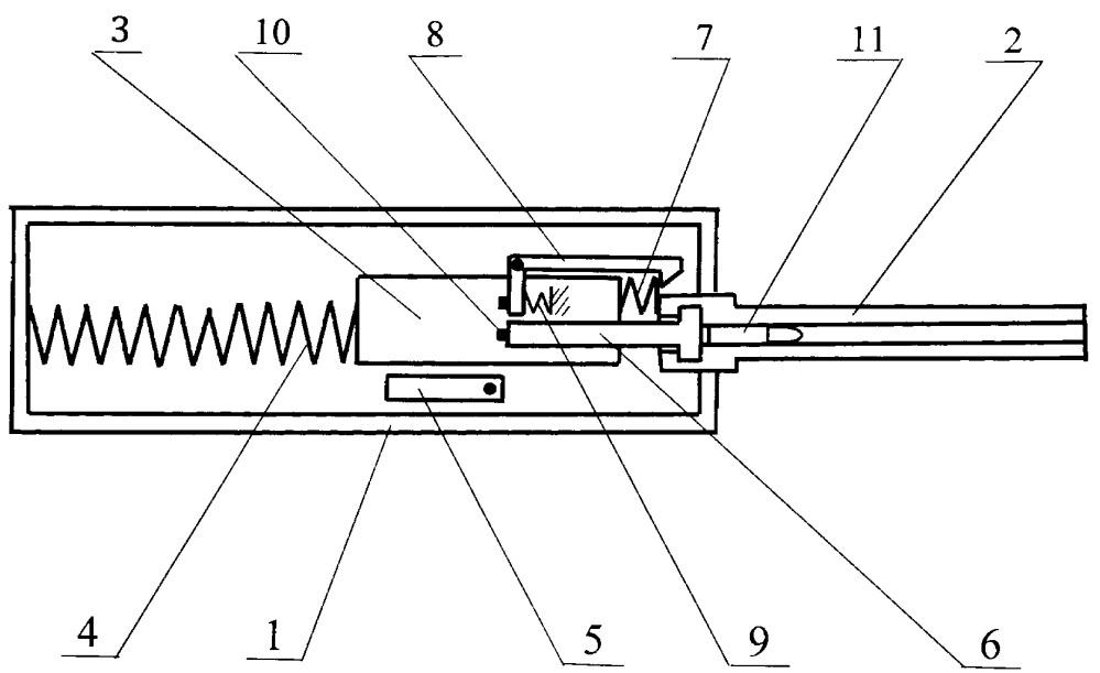 Автоматическое огнестрельное оружие с автоматикой на основе инерционной системы